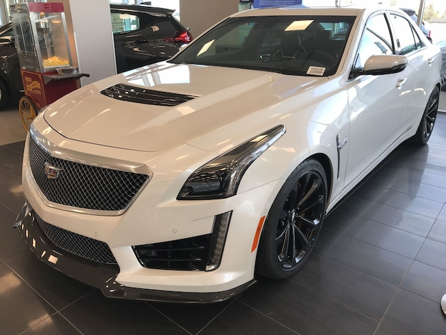 2019 Cadillac Cts V New Sedan For Sale Calgary Ab Car Dealership