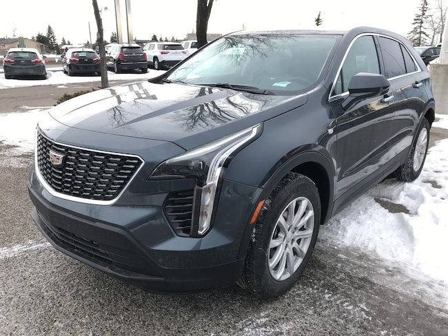 2019 Cadillac Xt4 New Suv For Sale Calgary Ab Car Dealership