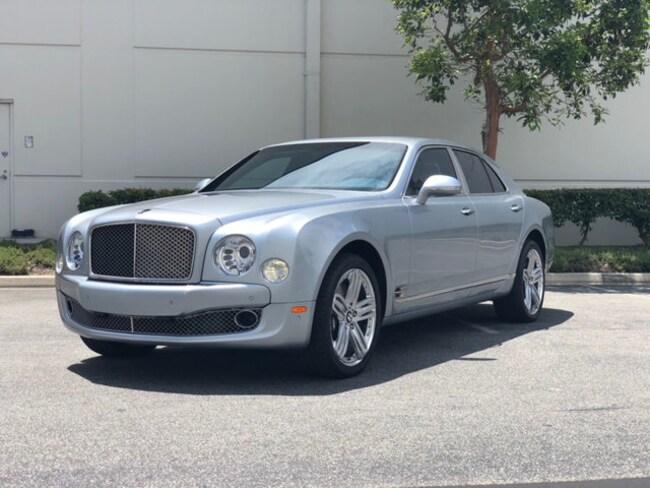 2012 Bentley Mulsanne Base Sedan