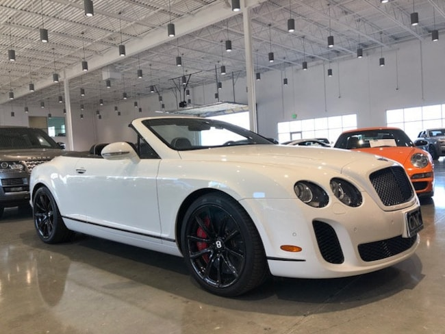 2011 Bentley Continental Supersports Base Convertible