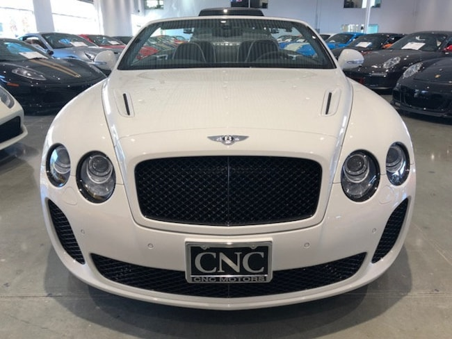 Used 2011 Bentley Continental Supersports For Sale Upland Ca