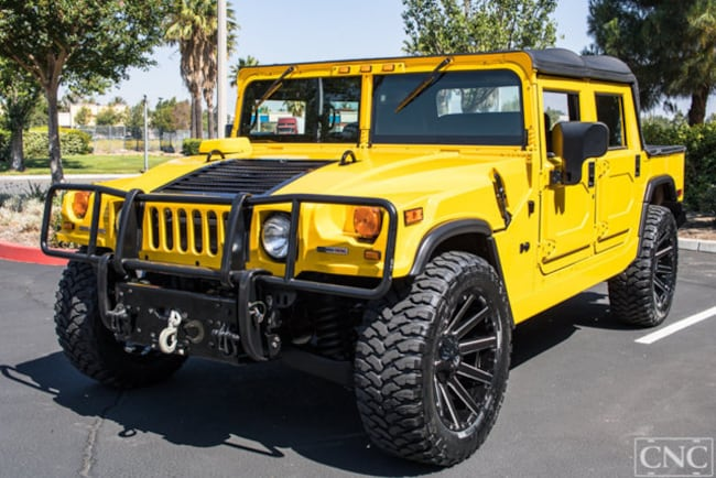 2006 HUMMER H1 Open Top SUV