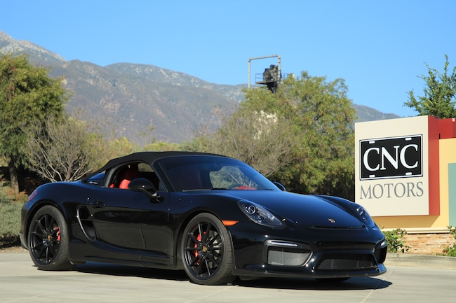 Used 2016 Porsche Boxster For Sale Upland Ca