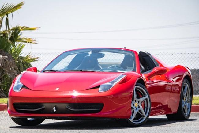 2013 Ferrari 458 Spider Convertible