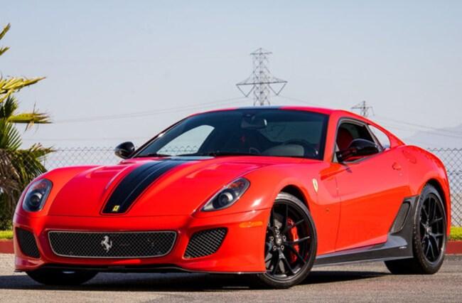 2011 Ferrari 599 GTO Coupe