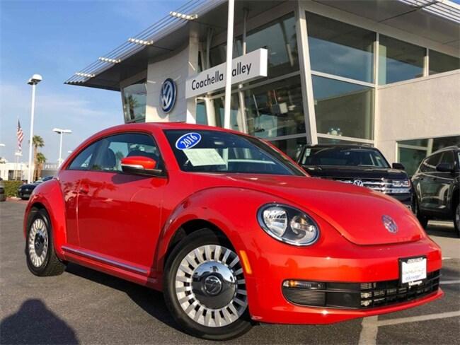 2016 Volkswagen Beetle 1.8T SE Hatchback