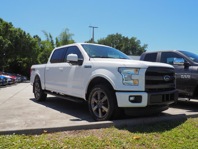 Used 2015 Ford F-150 Truck SuperCrew Cab in Melbourne, FL