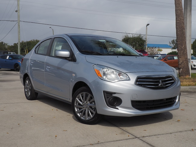 New 2019 Mitsubishi Mirage G4 ES Sedan in Melbourne, FL
