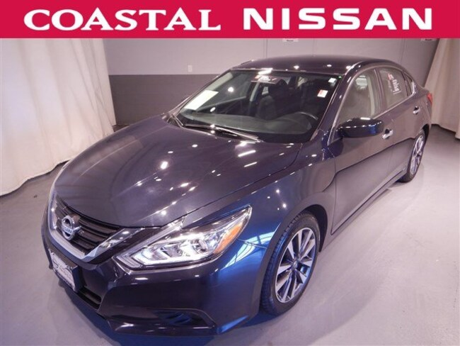 Certified Pre-Owned 2017 Nissan Altima 2.5 SV Sedan in Norwell, MA
