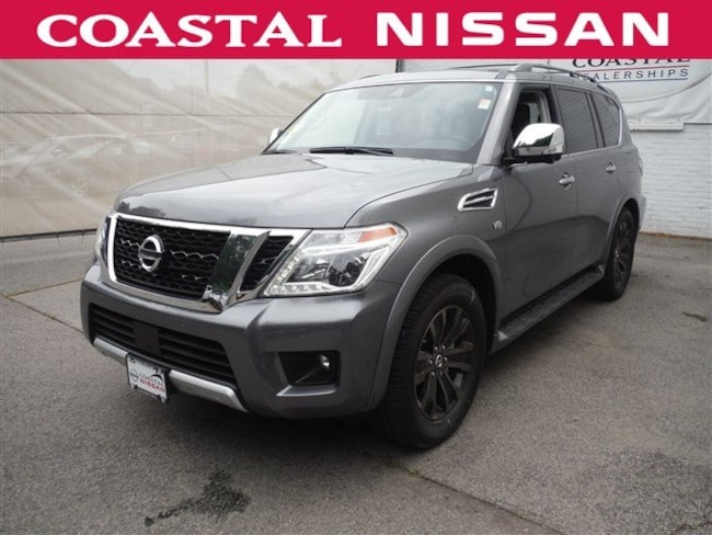 New 2018 Nissan Armada Platinum SUV in Norwell, MA