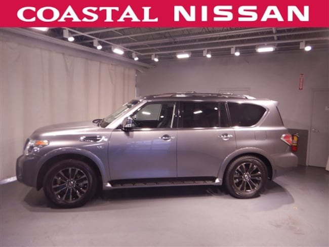 Certified Pre-Owned 2018 Nissan Armada Platinum SUV in Norwell, MA