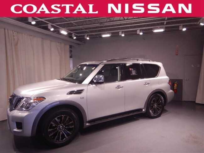Certified Pre-Owned 2017 Nissan Armada Platinum SUV in Norwell, MA
