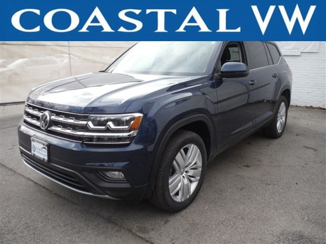 New 2019 Volkswagen Atlas 3.6L V6 SE w/Technology 4MOTION SUV For Sale/Lease Hanover, MA