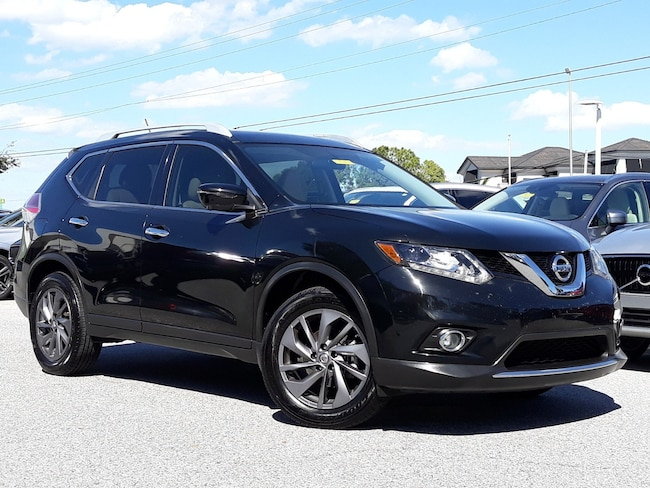 2016 Nissan Rogue SL FWD  SL For Sale in Sarasota