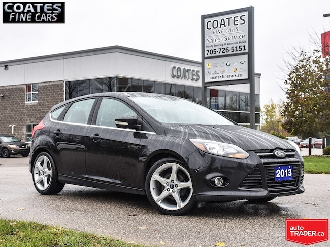 2013 Ford Focus Titanium CLEAN CARPROOF  ONLY 87795 KM Hatchback