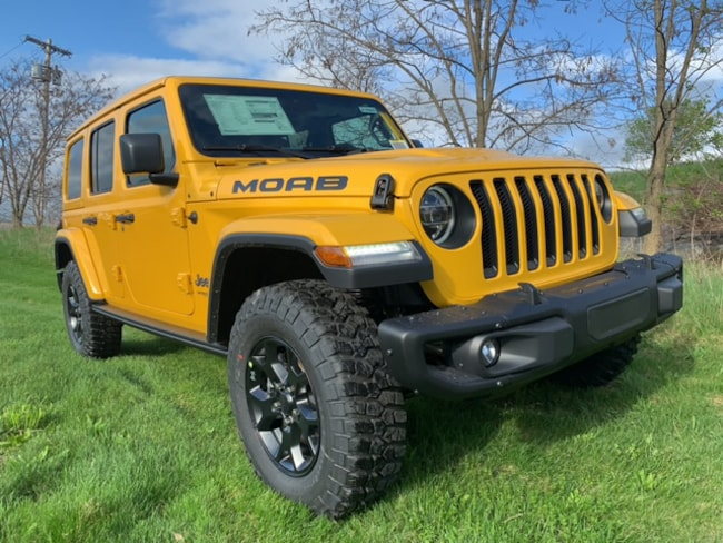 2019 Jeep Wrangler UNLIMITED MOAB 4X4 Sport Utility