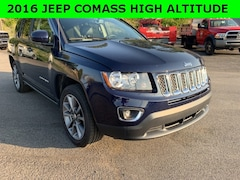 Used 2016 Jeep Compass High Altitude SUV for sale in Cobleskill, NY