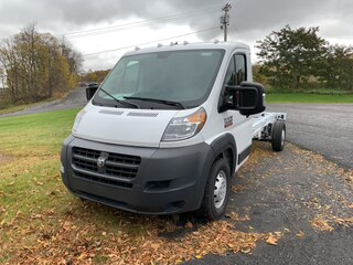 New 2018 Ram ProMaster 3500 CUTAWAY 159 WB EXT / 104 CA Chassis Extended for sale in Cobleskill, NY