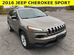 Used 2016 Jeep Cherokee Sport SUV for sale in Cobleskill, NY