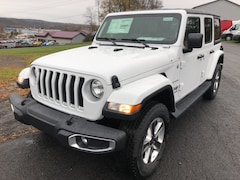 New 2018 Jeep Wrangler UNLIMITED SAHARA 4X4 Sport Utility for sale in Cobleskill, NY