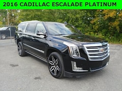Used 2016 Cadillac Escalade ESV Platinum Edition SUV for sale in Cobleskill, NY