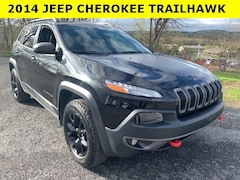 Used 2014 Jeep Cherokee Trailhawk SUV for sale in Cobleskill, NY