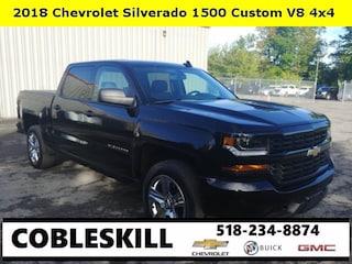 Used 2018 Chevrolet Silverado 1500 Custom Truck for sale in Cobleskill, NY