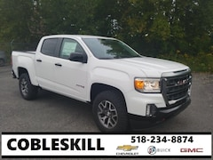 New 2021 GMC Canyon AT4 w/Cloth Truck 1GTG6FEN4M1120632 For Sale in Cobleskill, NY