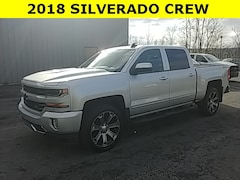 Used 2018 Chevrolet Silverado 1500 LT Truck Crew Cab for sale in Cobleskill, NY