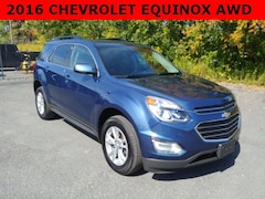 Used 2016 Chevrolet Equinox LT SUV for sale in Cobleskill, NY