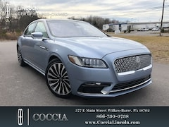 Used 2019 Lincoln Continental Black Label Sedan