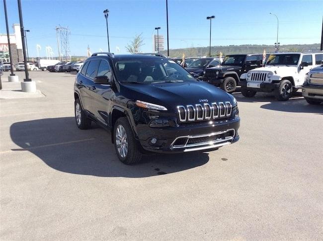 New 2018 Jeep Cherokee Overland - DEMO BLOWOUT! SUV Calgary