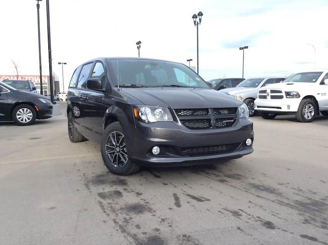 New 2019 Dodge Grand Caravan SXT Blacktop Van Passenger Van Calgary