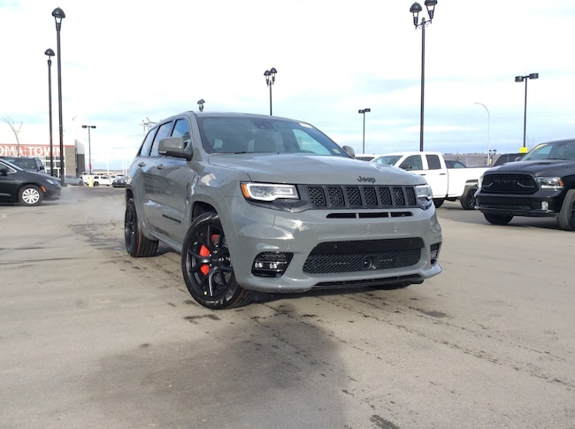 New 2019 Jeep Grand Cherokee SRT 4x4 SUV Calgary