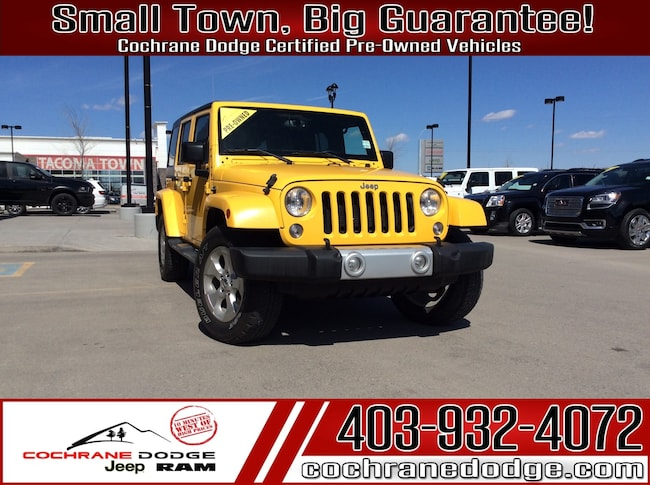 2015 Jeep WRANGLER UNLIMITED Sahara With NAV SUV