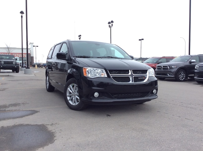 New 2019 Dodge Grand Caravan SXT Premium Plus w/ POWER DOORS AND DVD! Van Passenger Van Calgary
