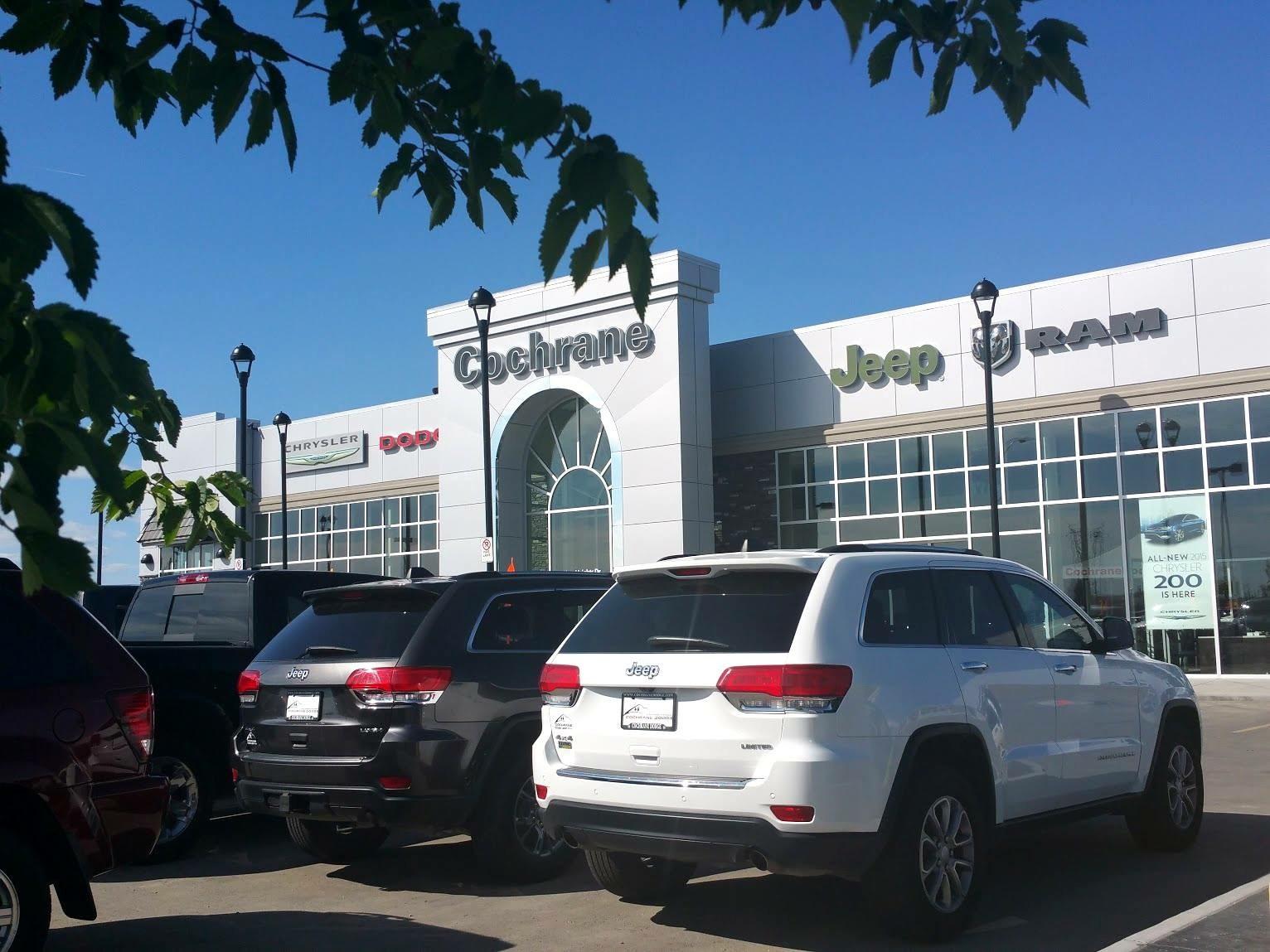 Cochrane Dodge Your Central Chrysler, Dodge, Jeep U0026 RAM Dealership Between  Calgary U0026 Canmore!