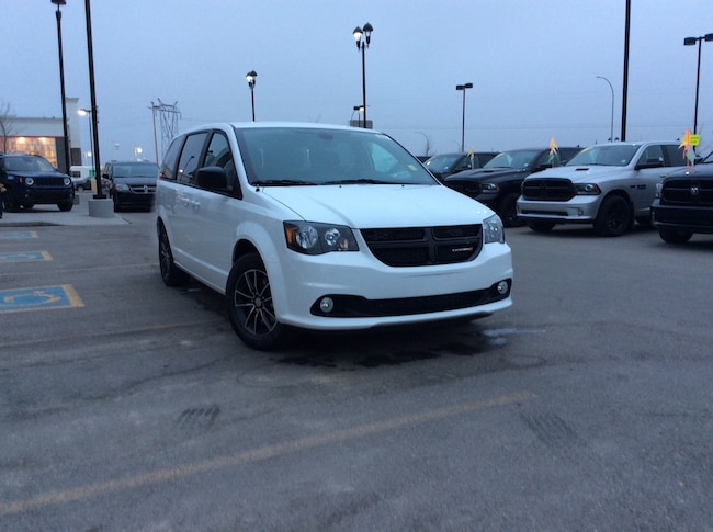 New 2019 Dodge Grand Caravan SXT Blacktop Package Van Passenger Van Calgary