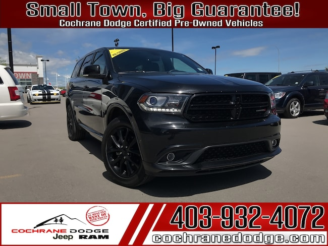 2018 Dodge Durango GT AWD-DVD LOADED! SUV