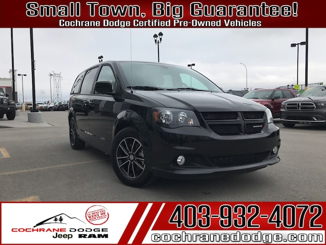 2019 Dodge Grand Caravan RT With Leather and Power Doors! Minivan