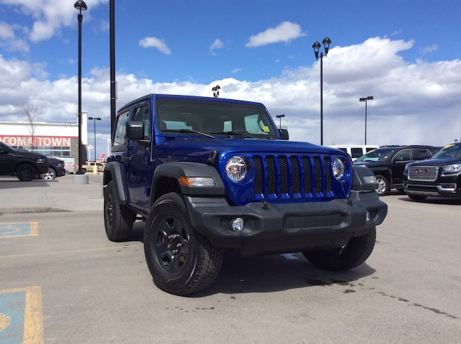New 2019 Jeep All-New Wrangler Sport 4x4 SUV Calgary