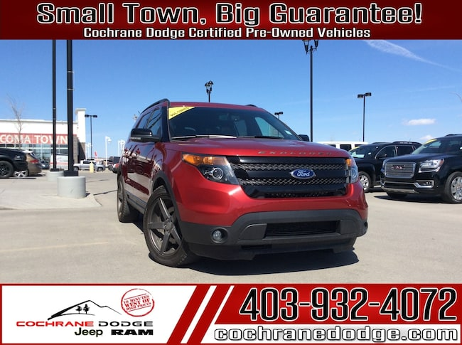 2015 Ford Explorer Sport- LOADED! NAV-ROOF -LEATHER AWD! SUV