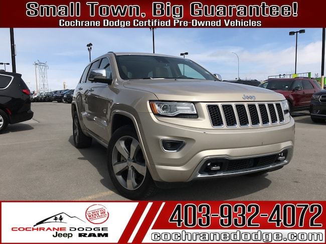 2015 Jeep Grand Cherokee Overland ECO DIESEL! Loaded and fully certified! SUV