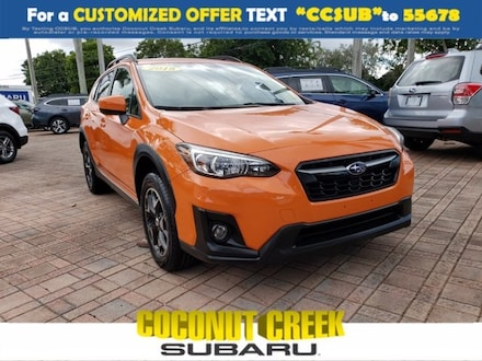 2018 Subaru Crosstrek 2.0i Premium SUV for sale near Fort Lauderdale, FL