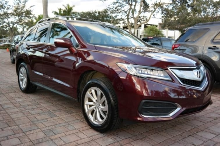 Used 2017 Acura RDX Technology Package SUV for sale near Fort Lauderdale, FL at Coconut Creek Subaru