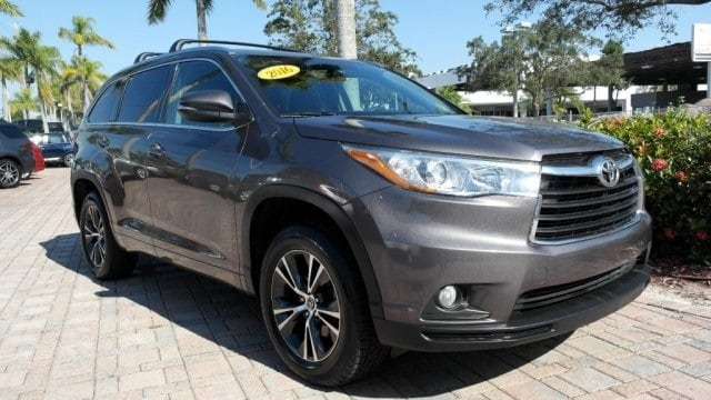 2016 Toyota Highlander XLE V6 SUV for sale near Fort Lauderdale, FL