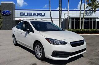 New Subaru 2020 Subaru Impreza Base Model Sedan for sale at Coconut Creek Subaru in Coconut Creek, FL