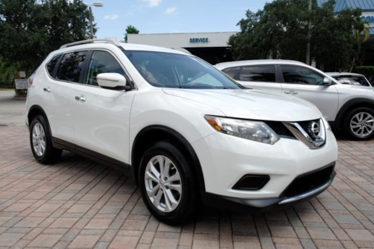 Used 2015 Nissan Rogue Sl For Sale Near Fort Lauderdale Fl At