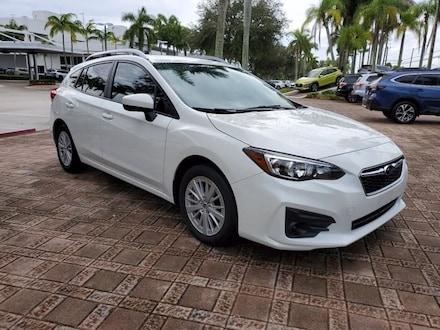 2018 Subaru Impreza 2.0i Premium Hatchback for sale near Fort Lauderdale, FL