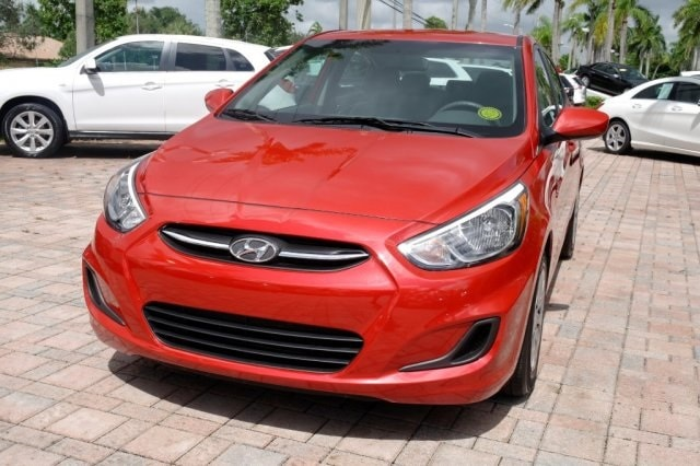 ... Used 2017 Hyundai Accent SE Sedan For Sale Near Fort Lauderdale, FL At Coconut  Creek ...